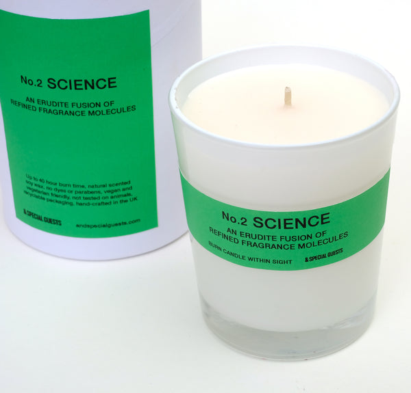 SCENTED CANDLE - No.2 SCIENCE