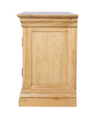 French Oak Small TV Cabinet