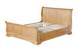 French Oak 5'0 King Size Bedframe
