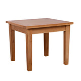 New Oak Fixed Square 90 x 90cm Dining Table