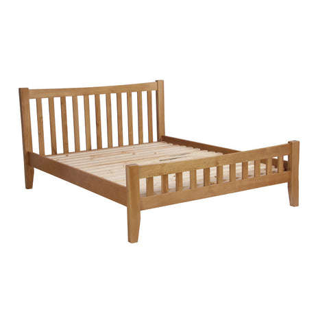 Rustic Oak 3'0 Single Bedframe
