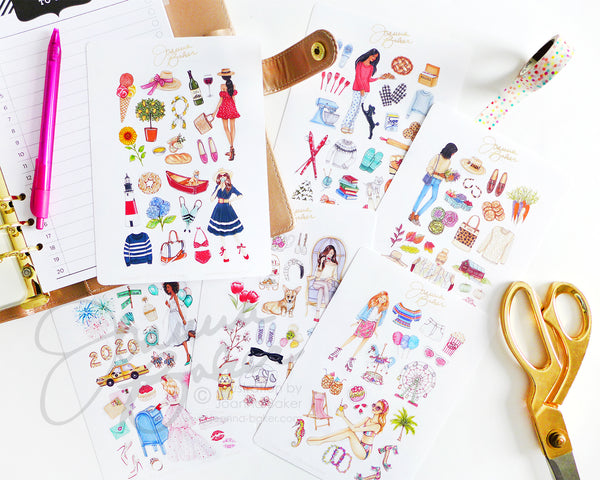 Favorite Things 2020 Fashion Planner Stickers