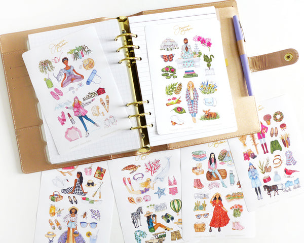 Favorite Things 2021 Fashion Planner Stickers