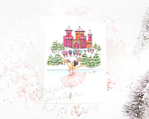 Sugar Plum Fairy Land of Sweets Holiday Greeting Card