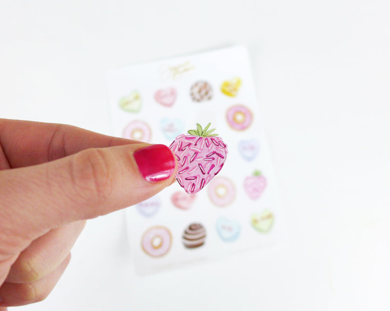 Valentine's Treats Stickers