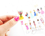 Fashion Illustration Stickers