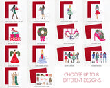 Choose Your Own Holiday Greeting Card Set