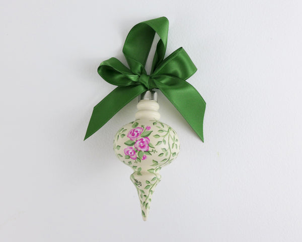 Ivory Rose Bouquet Heirloom Ornament