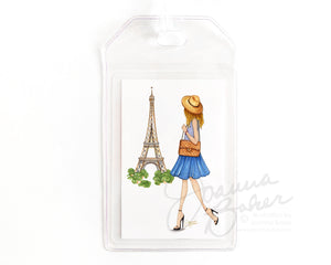 Paris is Always a Good Idea Luggage Tag