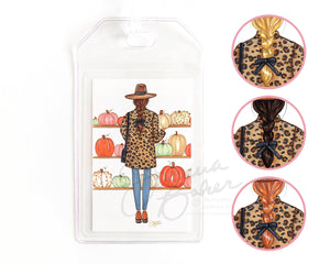 Pumpkin Season Luggage Tag