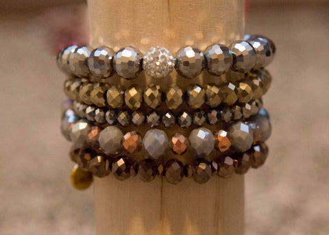 Erimish Stackable 5 Bracelets #17