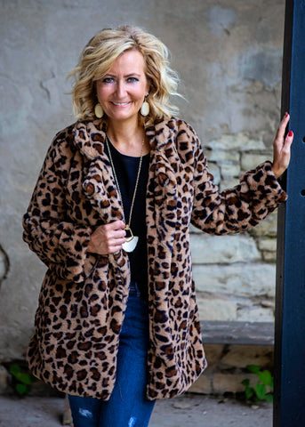 Leopard Coat / Jacket