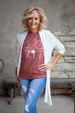 Clay Hello Fall Tee