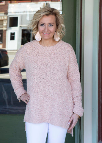 Blush Pullover Sweater