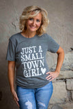 Heather Grey Small Town Girl Tee