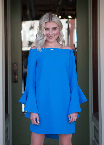 Aqua Blue Dress/Tunic