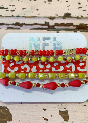 Red Yellow Bracelet