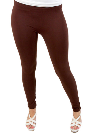 Niki Biki Leggings One Size Fits Most One Size Fits Most / Brown, Lucky Rhinestone Boutique - 2