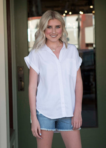 White Tencel Shirt