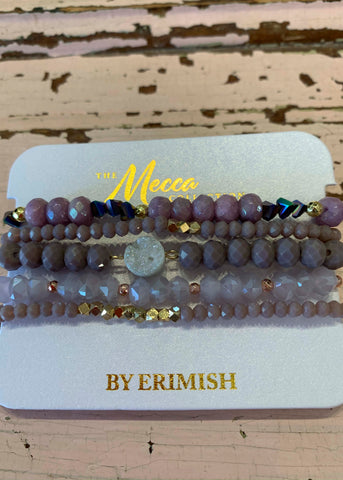 Mecca Light Purple Erimish Bracelet