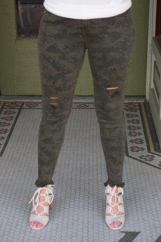 Camo Jean Leggings