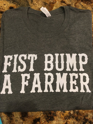 Fist Bump A Farmer Tee