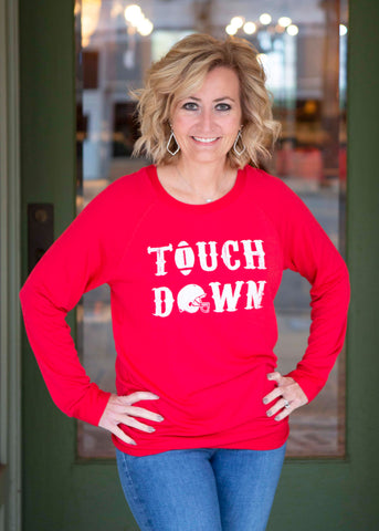 Red Touch Down Shirt