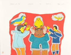 1970 - 1979 Cape Dorset Print Collection