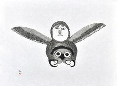IGUTSAQ (THE BEE) - Northern Expressions | Ohotaq Mikkigak - Print | | Canadian Indigenous & Inuit Art