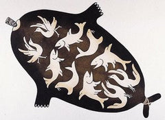 AVATAQ - Northern Expressions | Mary Pudlat - Print | | Canadian Indigenous & Inuit Art