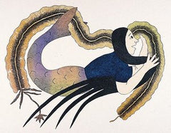 KEEPER OF THE KELP - Northern Expressions | Mary Pudlat - Print | | Canadian Indigenous & Inuit Art