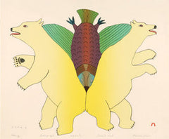 STUNG - Northern Expressions | Mialia Jaw - Print | | Canadian Indigenous & Inuit Art
