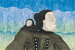 NORTHERN LIGHTS - Northern Expressions | Pitaloosie Saila - Print | | Canadian Indigenous & Inuit Art