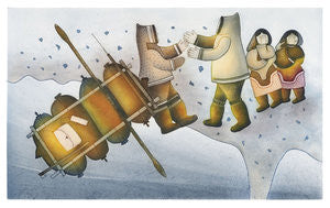 TITALITTAQ RETURNS - Northern Expressions | Mialia Jaw - Print | | Canadian Indigenous & Inuit Art