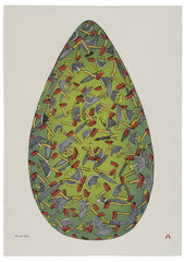 Egg - Northern Expressions | Shuvinai Ashoona - Print | | Canadian Indigenous & Inuit Art