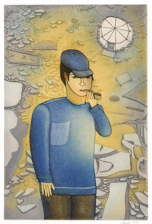 PIPE DREAM - Northern Expressions | Shuvinai Ashoona - Print | | Canadian Indigenous & Inuit Art