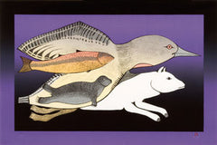 ARCTIC ENSEMBLE - Northern Expressions | Pitaloosie Saila - Print | | Canadian Indigenous & Inuit Art