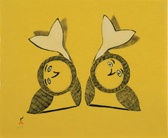 FLIP FLOP - Northern Expressions | Ohotaq Mikkigak - Print | | Canadian Indigenous & Inuit Art