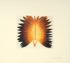 TARRILIKITAARQ (BUTTERFLY) - Northern Expressions | Qaluituk Kingwatsiak - Print | | Canadian Indigenous & Inuit Art