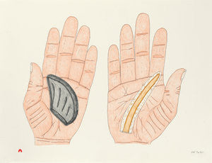 TUNIQTAVINIIT (ARTIFACTS) - Northern Expressions | Siassie Kenneally - Print | | Canadian Indigenous & Inuit Art