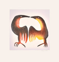 BEDAZZLED - Northern Expressions | Mayoreak Ashoona - Print | | Canadian Indigenous & Inuit Art