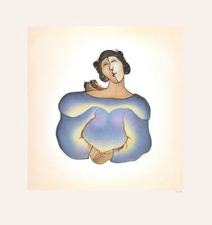 MARRULIAK (TWINS) - Northern Expressions | Pitaloosie Saila - Print | | Canadian Indigenous & Inuit Art