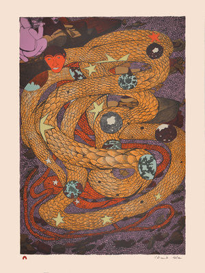 INNER WORLDS - Northern Expressions | Shuvinai Ashoona - Print | | Canadian Indigenous & Inuit Art