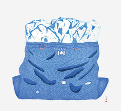 BAG OF ICE - Northern Expressions | Siassie Kenneally - Print | | Canadian Indigenous & Inuit Art