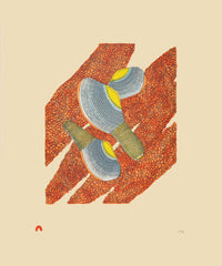 CLAMS AND ROE - Northern Expressions | Siassie Kenneally - Print | | Canadian Indigenous & Inuit Art