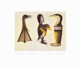 BECOMING HUMAN - Northern Expressions | KAKULU SAGGIAKTOK - Print | | Canadian Indigenous & Inuit Art