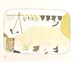 SUMMER BREEZE - Northern Expressions | Mary Pudlat - Print | | Canadian Indigenous & Inuit Art