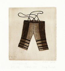 SUVINNGITUUK (SEALSKIN PANTS) - Northern Expressions | Mary Pudlat - Print | | Canadian Indigenous & Inuit Art