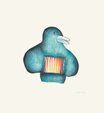 Accordion Player - Northern Expressions | Malaija Pootoogook - Print | | Canadian Indigenous & Inuit Art