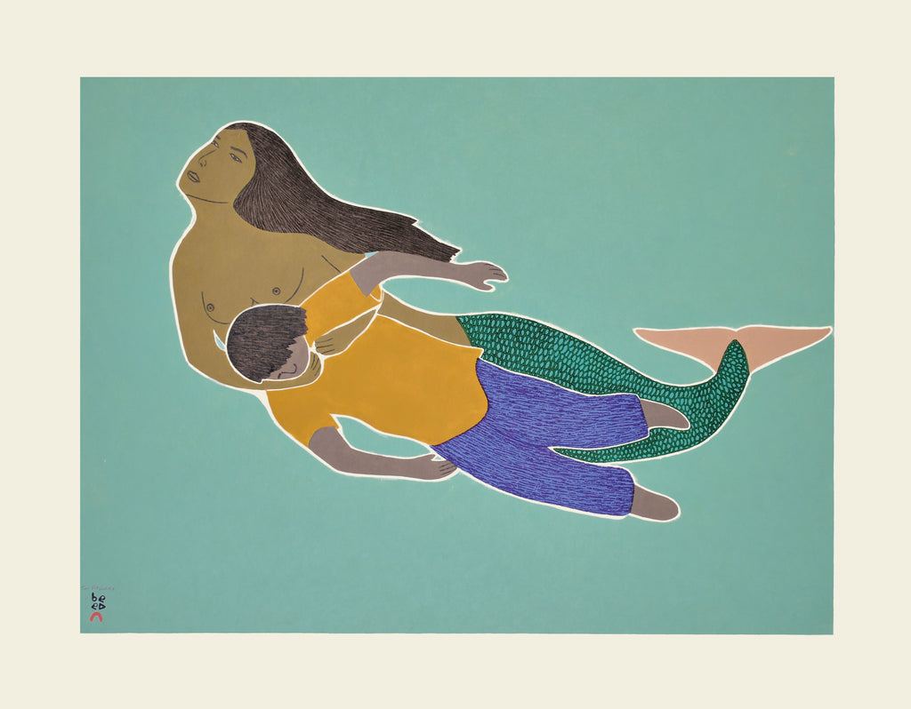 Sedna's Rescue - Northern Expressions | Tim Pitsiulak - Print | | Canadian Indigenous & Inuit Art